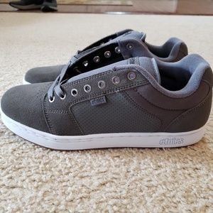 Etnies Barge XL Grey/White/Gum Skateboard Shoe